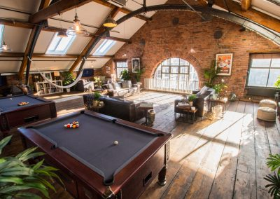 Pool Tables and Lounge