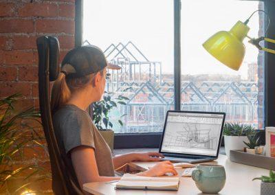 A Window Desk