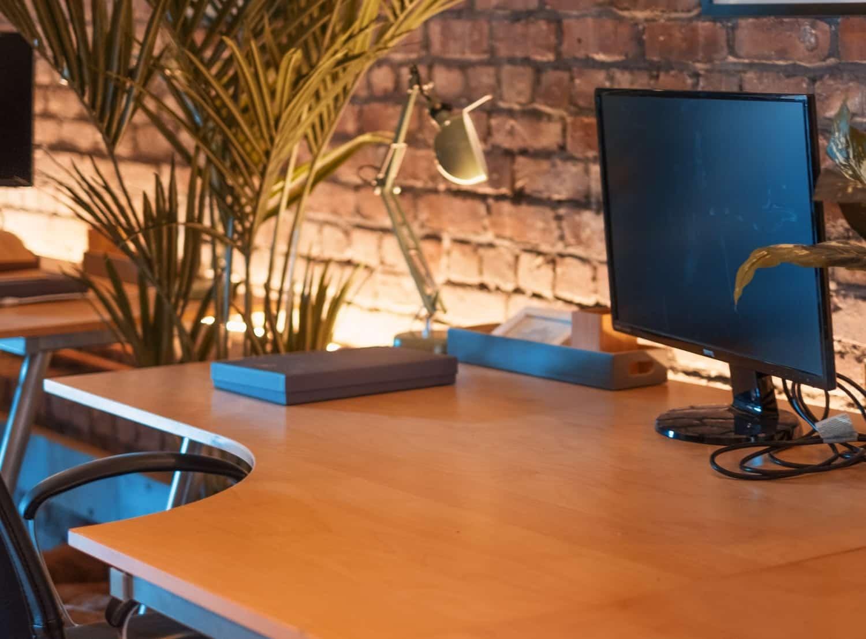 Large Desk in Beehive Lofts