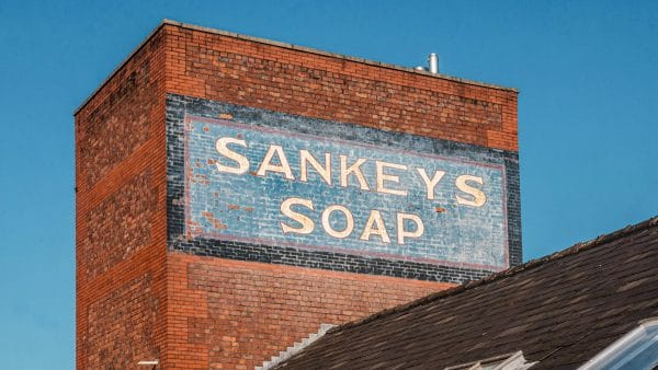 Sankeys Soap sign